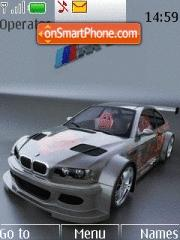 Car BMW E46 R34 theme screenshot