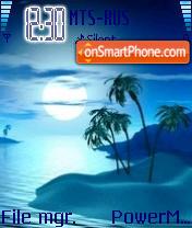Tropical Night es el tema de pantalla
