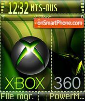 Xbox 360 01 es el tema de pantalla
