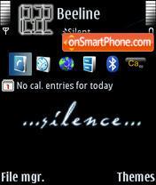 Скриншот темы Silence 02