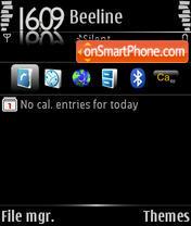Black Innovation Default theme screenshot