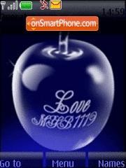 Heart Apple theme screenshot