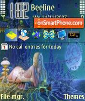 Dreaming Fairy theme screenshot