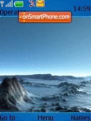 Polar Landscape theme screenshot