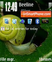 Snail D3 theme screenshot