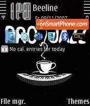 Pro Jazz tema screenshot