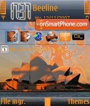 Скриншот темы Sydney Opera