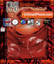 Open Your Heart theme screenshot