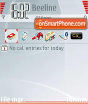 Vodafone Live theme screenshot
