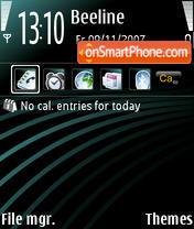 Haze theme screenshot