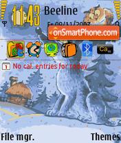 Polnolynie theme screenshot