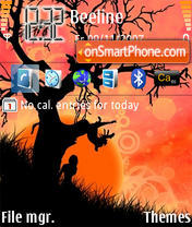 Orange Tree theme screenshot