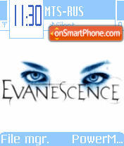 Evanescence 04 tema screenshot