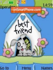 Best Friends tema screenshot