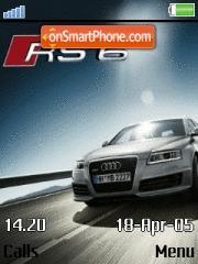 Audi Rs6 2008 es el tema de pantalla