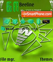 Dr.Web Green Icon theme screenshot