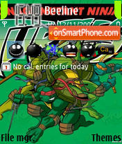 Tmnt 02 Theme-Screenshot
