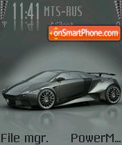Lamborghini Embolado theme screenshot