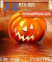 Pumpkin es el tema de pantalla