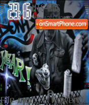 Gangsta Grafitti tema screenshot