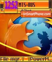 Mozilla Firefox es el tema de pantalla