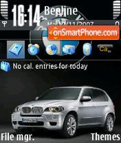 Скриншот темы Bmw X5 04