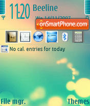 Eola theme screenshot