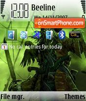 Скриншот темы Pirat