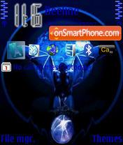 Blue Vampir theme screenshot