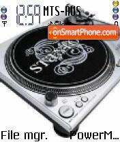 DJ 02 Theme-Screenshot