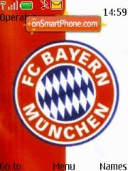 Bayern Munich theme screenshot