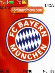 Bayern Munich theme screenshot