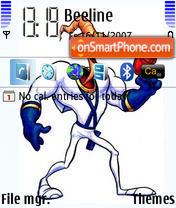 Jim Worm theme screenshot