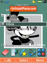 Mickey 01 theme screenshot
