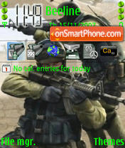 Скриншот темы Counter Strike 08