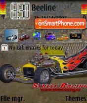 Street Racing es el tema de pantalla