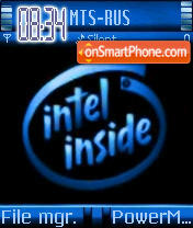 Intel Inside theme screenshot