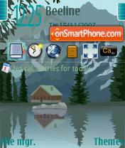 Zhizn V Gorax theme screenshot