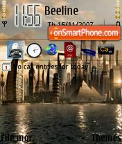 City 03 theme screenshot