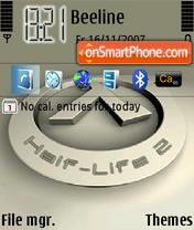 Half Life 04 theme screenshot