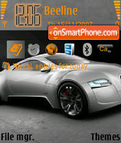 Скриншот темы Audi 08