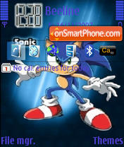 Sonic The Hedgehog 01 theme screenshot
