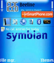 Symbian 10 theme screenshot