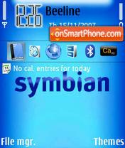 Скриншот темы Symbian 10