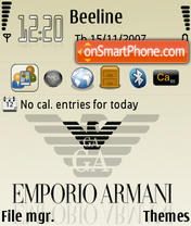 Armani 01 theme screenshot