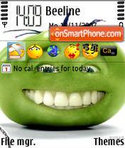 Скриншот темы Green Tomato