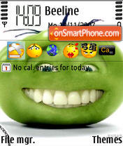 Green Tomato es el tema de pantalla