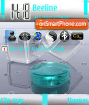3d Cristal theme screenshot