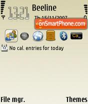 No Logo theme screenshot