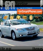 Скриншот темы Toyota Camry